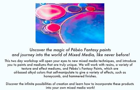 Mixed Media Workshop print
