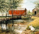 Woolen Mill and Creek